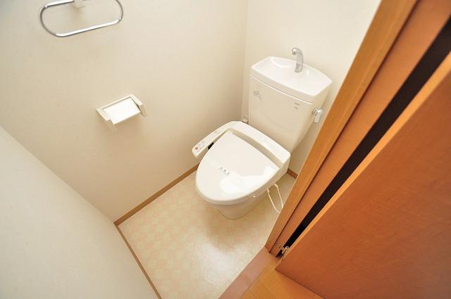 メゾンフレール スタンダードなトイレは清潔感があって、リラックス出来ます。