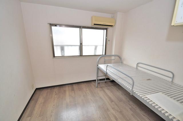 プレアール小若江 ゆとりのあるベッドルームで快適な睡眠をとってくださいね。
