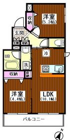 パサディナ2 401号室