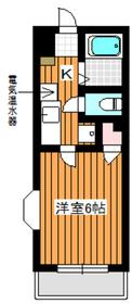 高島平駅 徒歩26分4階Fの間取り画像