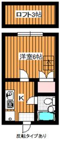 和光市駅 徒歩6分2階Fの間取り画像