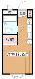 新堀マンション3階Fの間取り画像