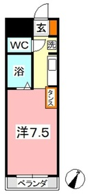 フォーバス I4階Fの間取り画像
