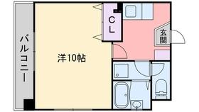 イスタナ藤崎2階Fの間取り画像