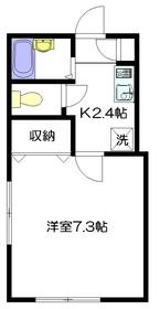 ギベオンハウス1階Fの間取り画像