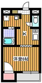 成増駅 徒歩13分2階Fの間取り画像