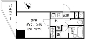 フォレシティ白金台4階Fの間取り画像