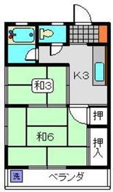 ファミール山王台2階Fの間取り画像