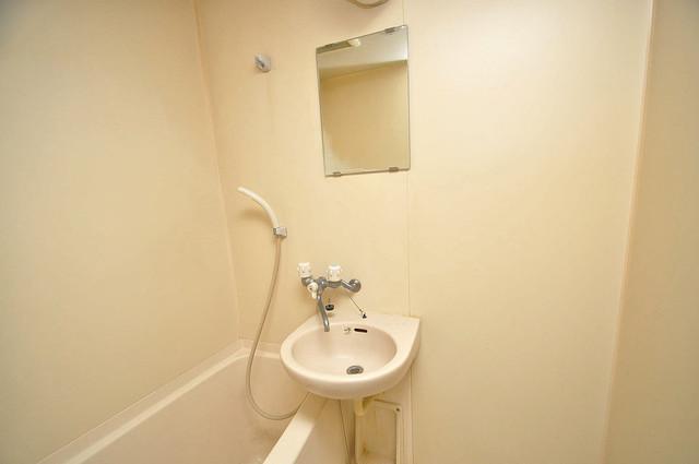グランメール高井田 可愛いいサイズの洗面台ですが、機能性はすごいんですよ。