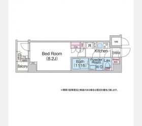 地下鉄成増駅 徒歩6分4階Fの間取り画像
