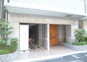 スカイコート文京根津エントランス