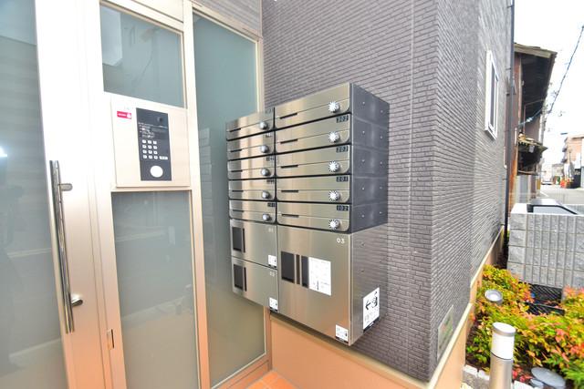 カレント ヴィラ 希 エントランス内にある各部屋毎のメールボックス。