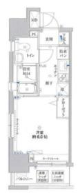 リクレイシア・コルテ川崎元木3階Fの間取り画像