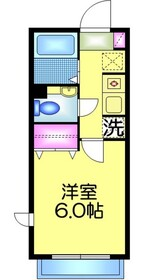コンフォール・オセロ1階Fの間取り画像