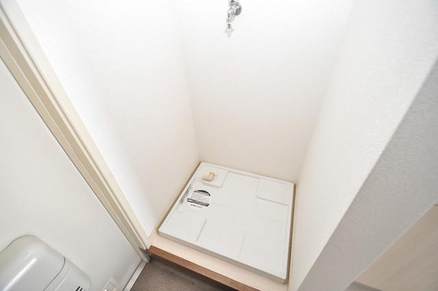 ビオス中小阪 室内に洗濯機置き場があれば雨の日でも安心ですね。