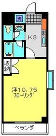 フェリシタ日吉2階Fの間取り画像