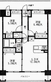 日野駅 徒歩5分4階Fの間取り画像