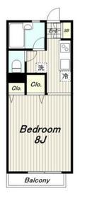 モア多摩2階Fの間取り画像