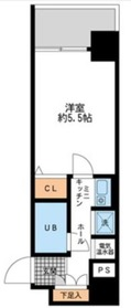 ダイヤモンドタワー鶴見7階Fの間取り画像