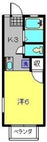上大岡駅 徒歩5分2階Fの間取り画像