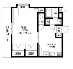東武練馬駅 徒歩5分4階Fの間取り画像