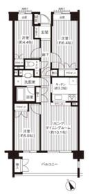 上永谷駅 徒歩2分4階Fの間取り画像