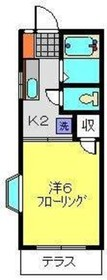 グレイスコート南太田1階Fの間取り画像