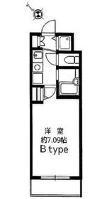 シャン・ド・フルール菊名3階Fの間取り画像