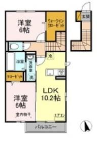 仮称)D-room大和田2階Fの間取り画像