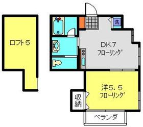 セントパーク ヨコハマ2階Fの間取り画像