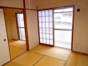 玄関から見て右側の和室(南面・障子あり)