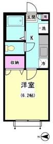 パピヨン南大井 205号室