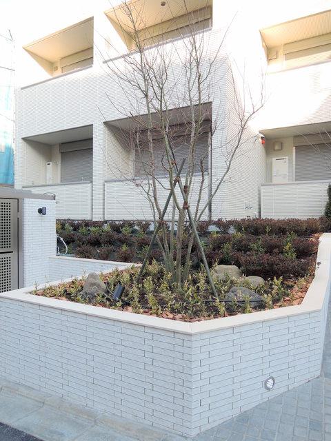 代官山テラス植栽