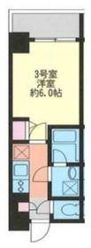 マークス横浜橋通り10階Fの間取り画像