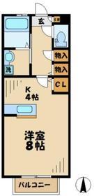 碧の杜(アオノモリ)1階Fの間取り画像