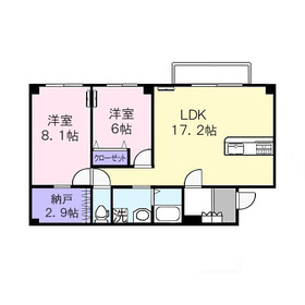 FNビル2階Fの間取り画像