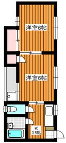 ヴィラコートマカベ11階Fの間取り画像