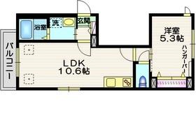 レーヴ 南3階Fの間取り画像