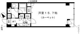 シャルム内神田2階Fの間取り画像