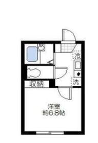 コンフォート川崎南町2階Fの間取り画像