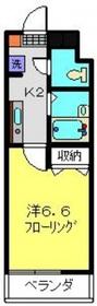三田レジデンス鶴見3階Fの間取り画像