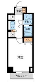 カッシア川崎レジデンス5階Fの間取り画像