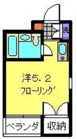 サンライト日吉3階Fの間取り画像