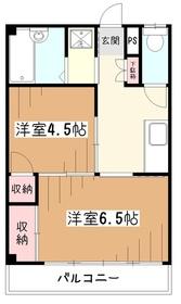 トキワビル2階Fの間取り画像