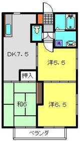 NAKⅠ1階Fの間取り画像