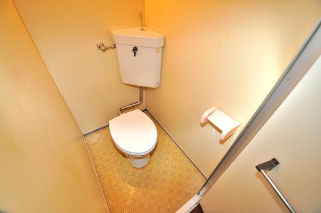 ニッコーハイツ俊徳 清潔感のある爽やかなトイレ。誰もがリラックスできる空間です。