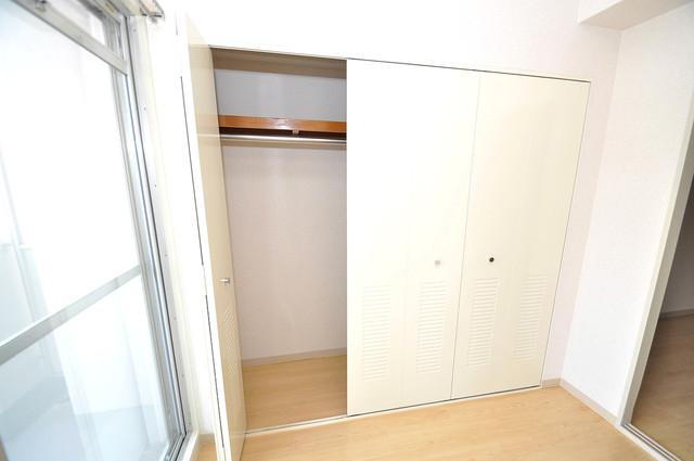 カーサノベンタ もちろん収納スペースも確保。いたれりつくせりのお部屋です。