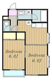 メゾン文京3階Fの間取り画像