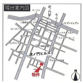 愛宕ビューアパートメント案内図