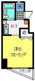 レジデンス大口通3階Fの間取り画像